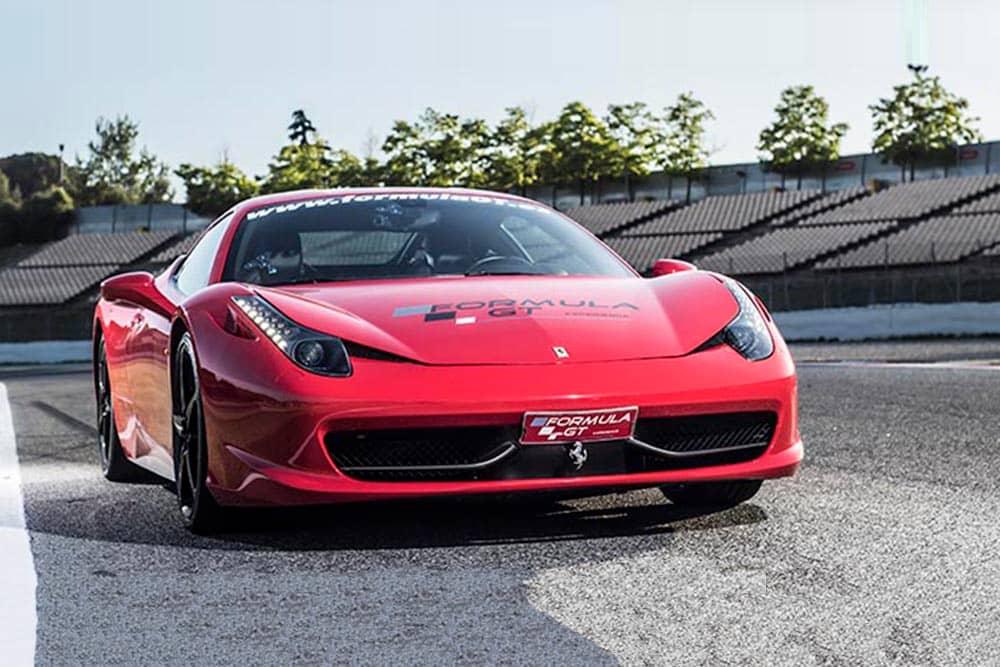 Ferrari 458 rojo