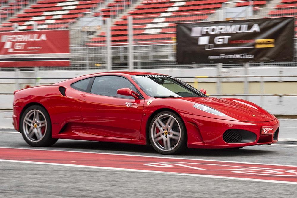 Ferrari 430 rojo