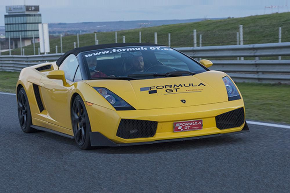 Lamborghini Gallardo amarillo