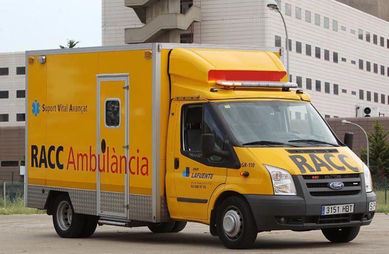 Ambulancia del RACC