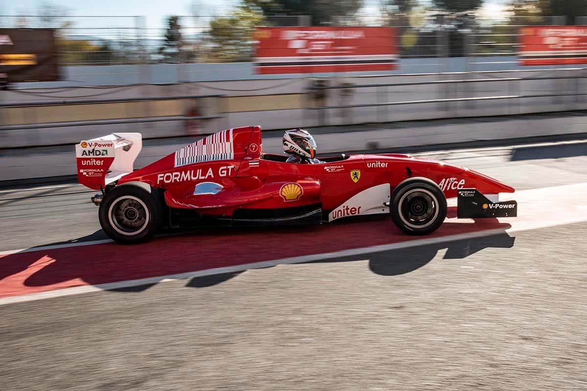 Vehículo de Fórmula 3